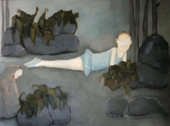 huile - 116 x 89 cm